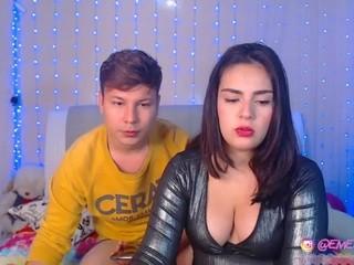 emelyaaron couple live on webcam